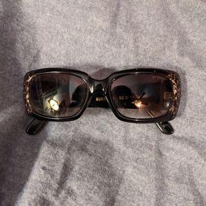 Betsy Johnson Leopard Sunglasses